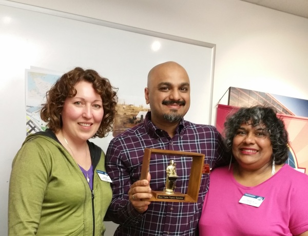 Riz Aseem Wins Best Table Topics At ASK Toastmasters