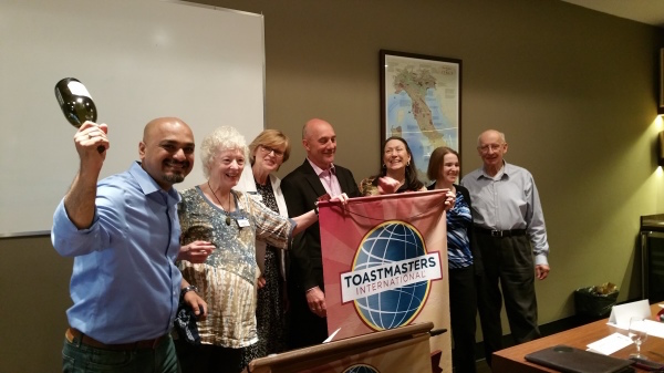 ASK recaptures banner from Finding Vino Toastmasters