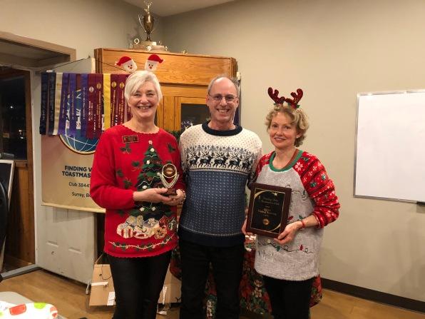 Christmas winners Monica and May (Dec 2019)!
